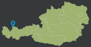 Schattwald Landkarte Österreich